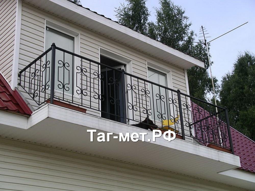 Ограждения для балконов и лестниц - примеры..